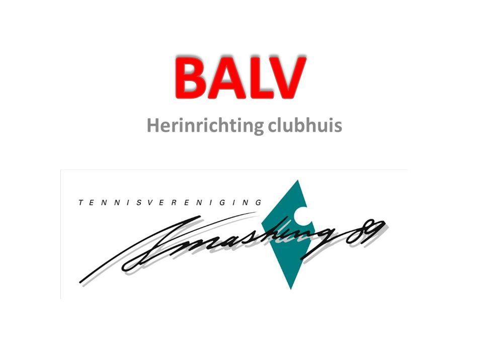 Herinrichting clubhuis