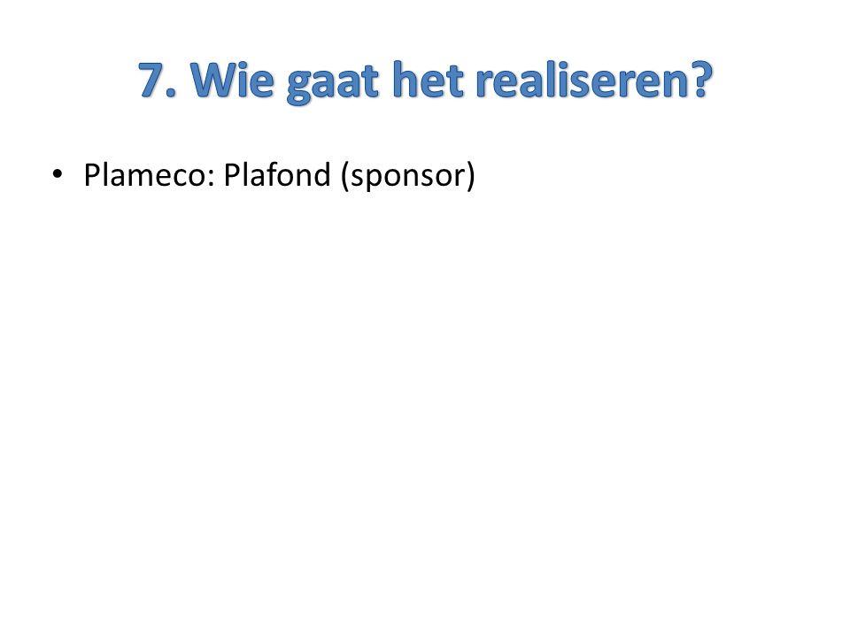 Plameco: Plafond (sponsor)