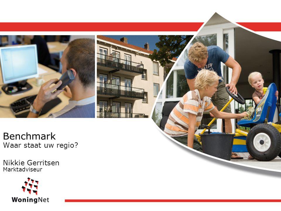 Benchmark Waar staat uw regio Nikkie Gerritsen Marktadviseur