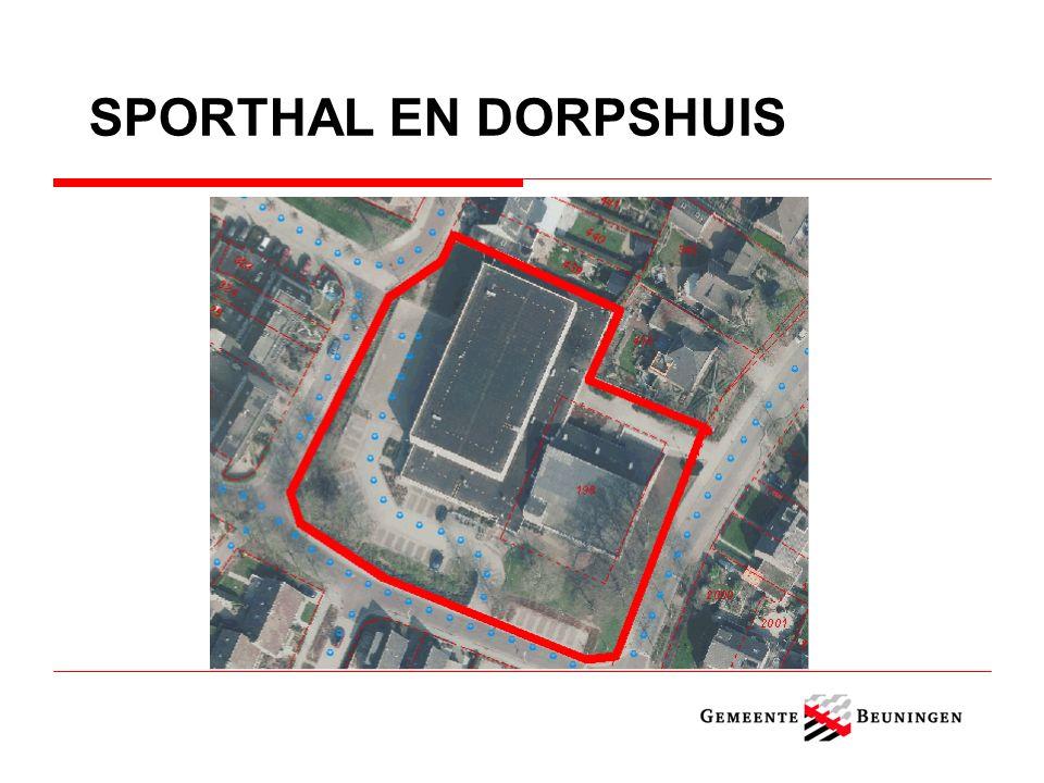 SPORTHAL EN DORPSHUIS