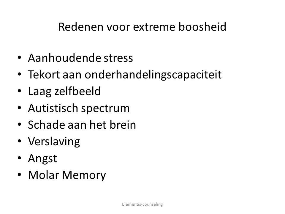 De 'Molar-Memory' Elementis-counseling