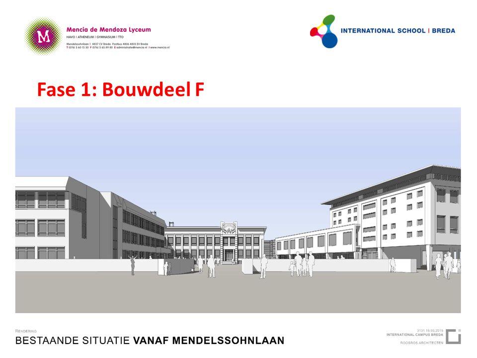 Fase 1: Bouwdeel F