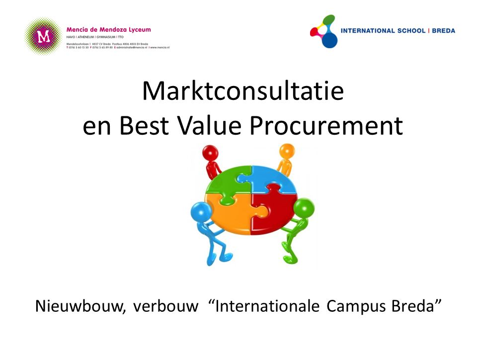 Marktconsultatie en Best Value Procurement Nieuwbouw, verbouw Internationale Campus Breda
