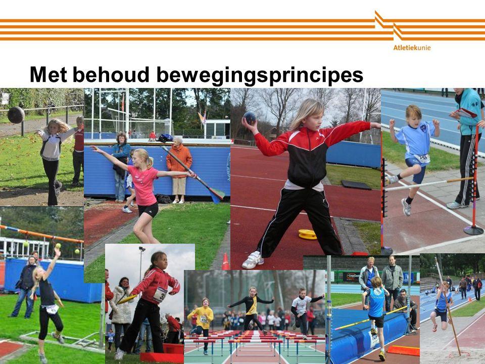 Atletiekunie Met behoud bewegingsprincipes