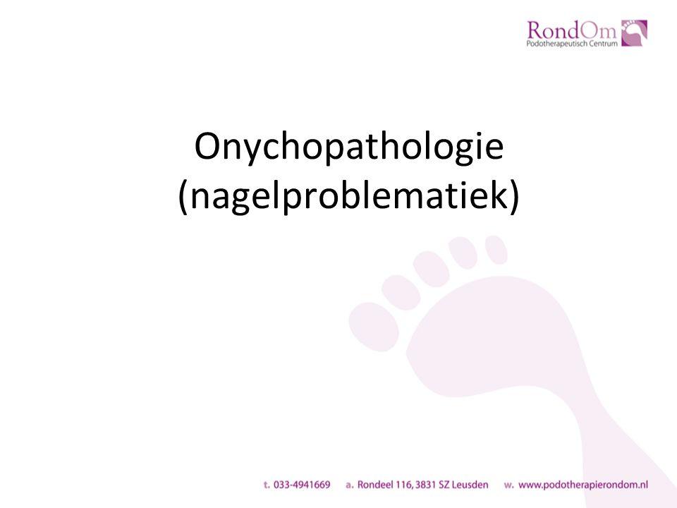 Onychopathologie (nagelproblematiek)