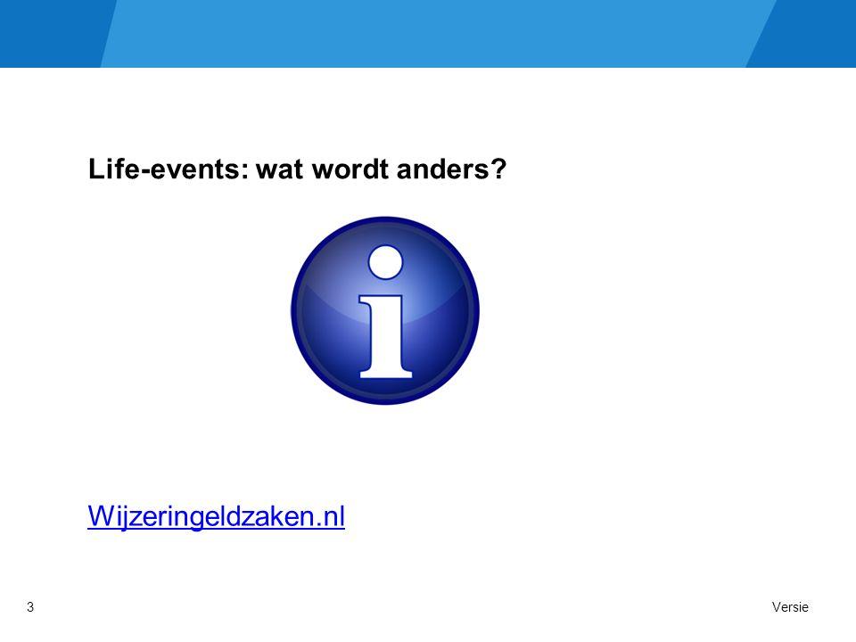 Life-events: wat wordt anders Wijzeringeldzaken.nl Versie3