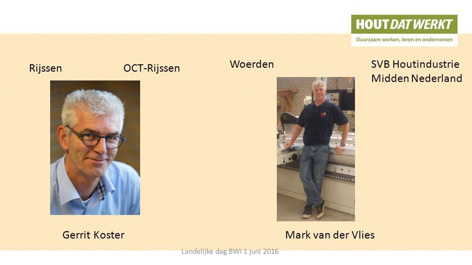 RijssenOCT-Rijssen Woerden SVB Houtindustrie Midden Nederland Gerrit KosterMark van der Vlies Landelijke dag BWI 1 juni 2016