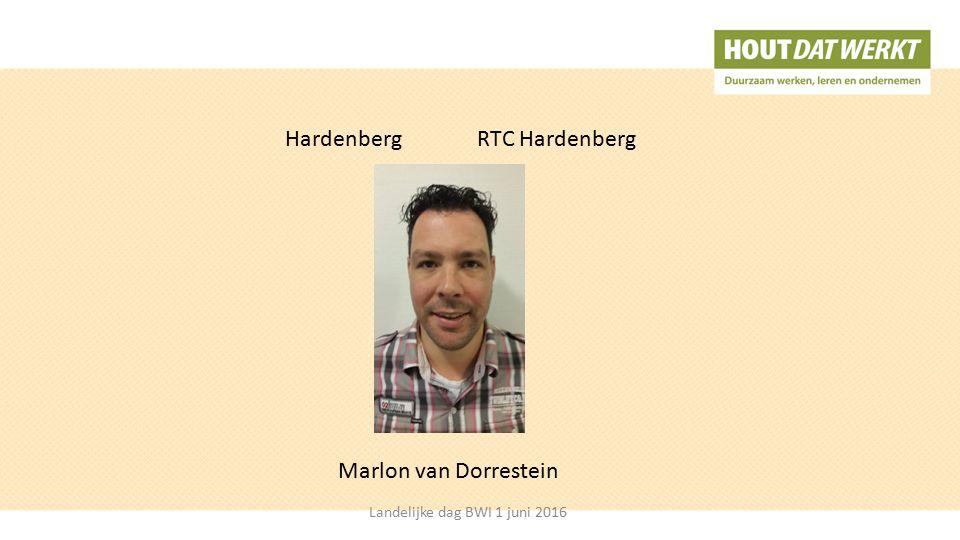HardenbergRTC Hardenberg Marlon van Dorrestein Landelijke dag BWI 1 juni 2016