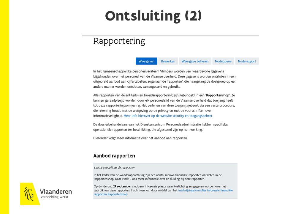 Ontsluiting (2)