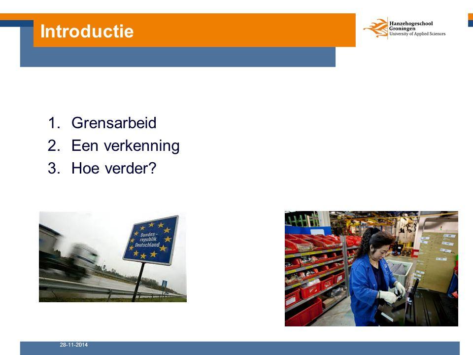 18-10-2012Kenniscentrum Arbeid in de Eemsdelta 3 Europese arbeidsmarkt Grensarbeid Petra Oden