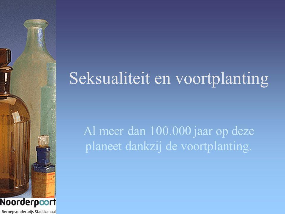 Seksualiteit en voortplanting Al meer dan 100.000 jaar op deze planeet dankzij de voortplanting.