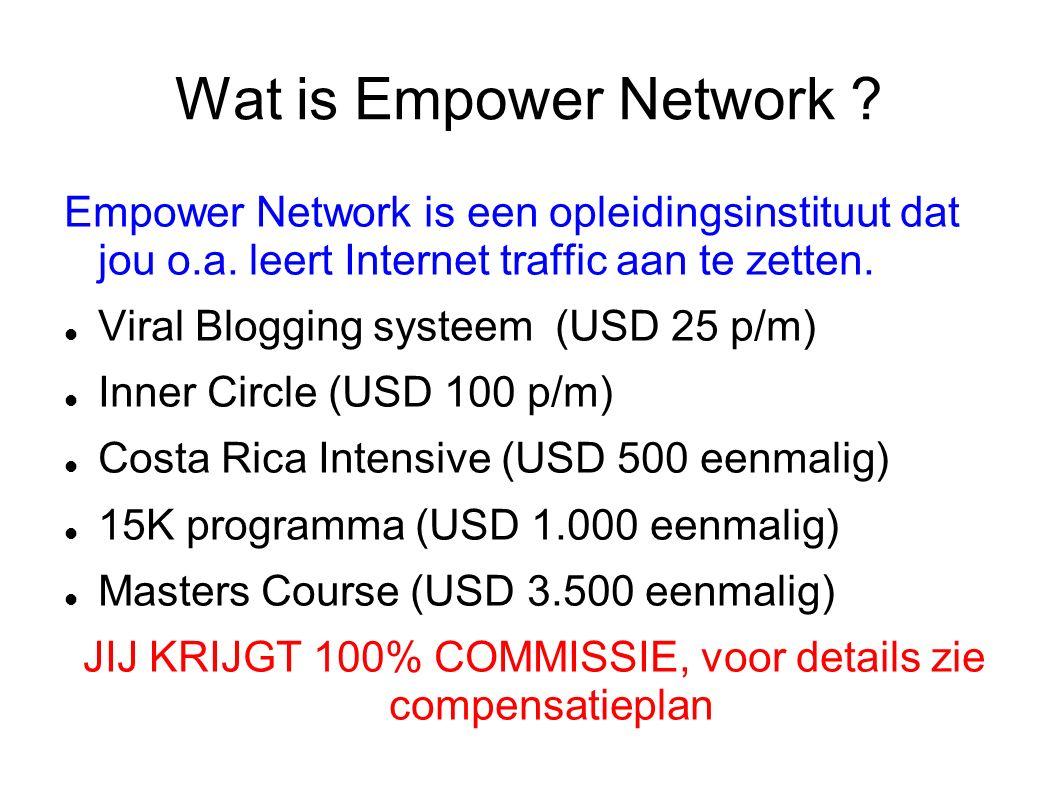 Wat is Empower Network . Empower Network is een opleidingsinstituut dat jou o.a.