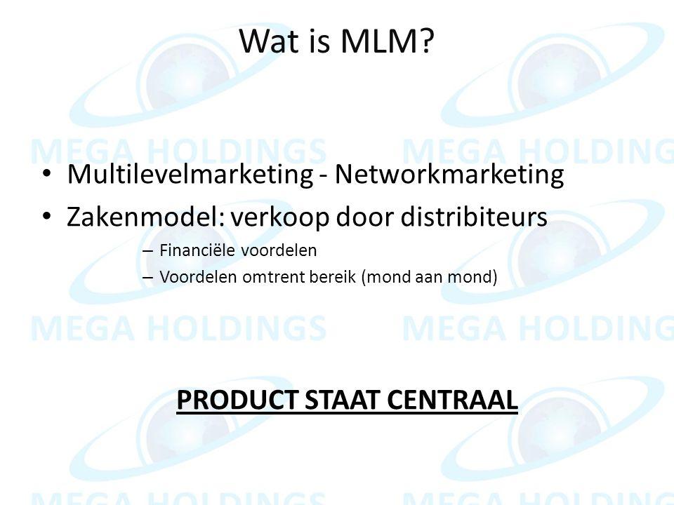 Wat is MLM.