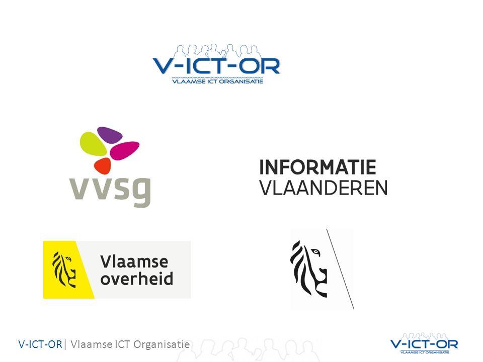 V-ICT-OR  Vlaamse ICT Organisatie Kennisdag woensdag 28 september 2016 VAC Gent InschrijvenInschrijven via de website