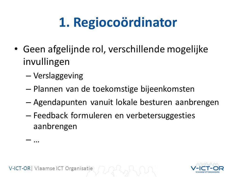V-ICT-OR  Vlaamse ICT Organisatie 2.