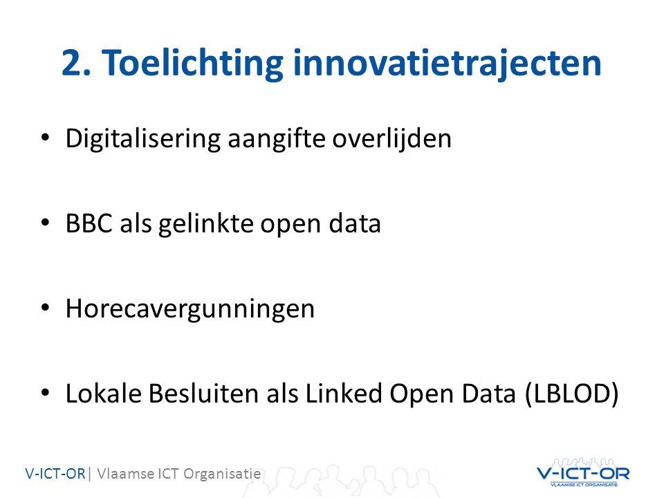 V-ICT-OR  Vlaamse ICT Organisatie Digitalisering aangifte overlijden 6 Arts Uitvaartondernemer Crematoria Gemeente van overlijden Gemeente van woonst Naasten Beëdigde art s