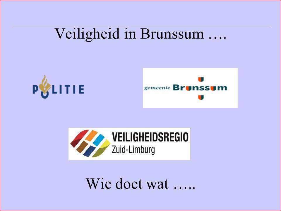 Afdeling Veiligheid, Toezicht & Handhaving Gemeente Brunssum