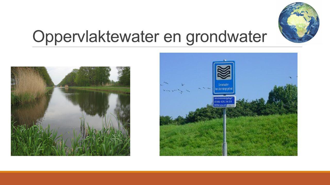 Oppervlaktewater en grondwater