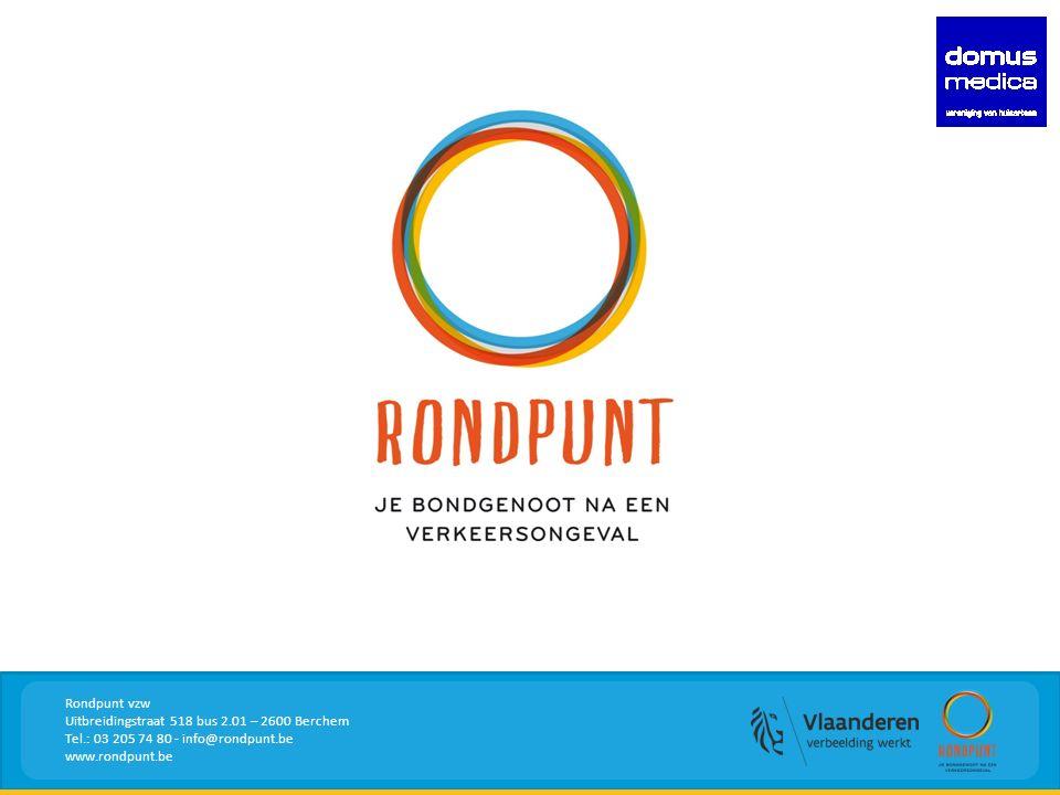 Rondpunt vzw Uitbreidingstraat 518 bus 2.01 – 2600 Berchem Tel.: 03 205 74 80 - info@rondpunt.be www.rondpunt.be
