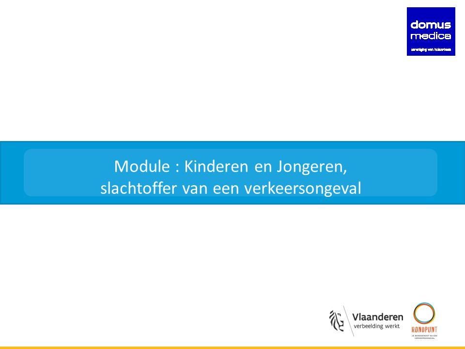 naam presentatie Module : Kinderen en Jongeren, slachtoffer van een verkeersongeval