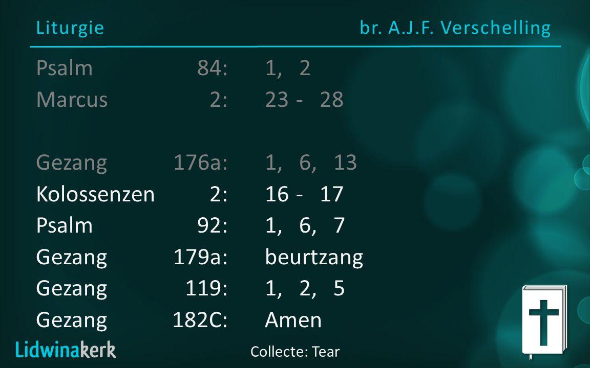 Liturgie br. A.J.F.