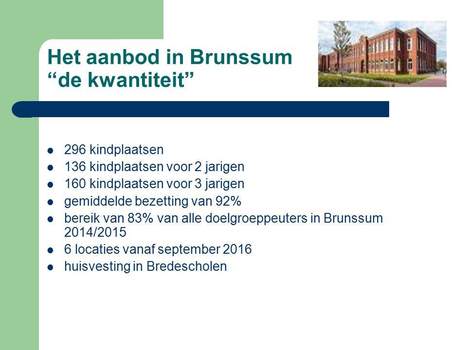 Het aanbod in Brunssum onze kwaliteit .