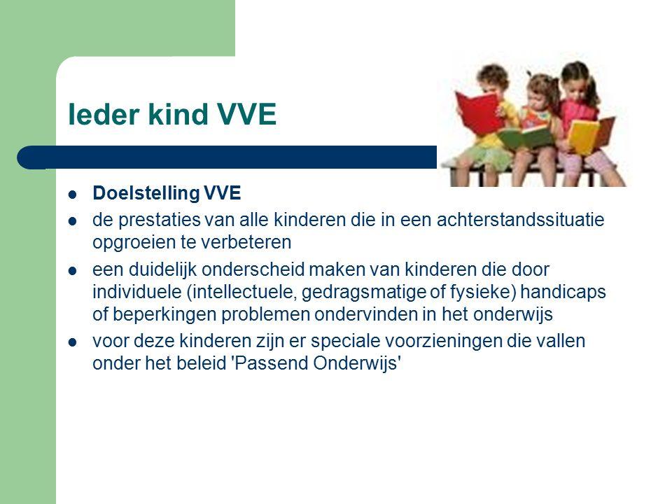 Doelgroepkinderen / Gewichtenregeling Doelgroepkind vastgesteld door JGZ -sociaal Economische omstandigheden -gewichtenregeling: De gewichten zijn gekoppeld aan het opleidingsniveau van de ouders -indeling in 3 categorieën