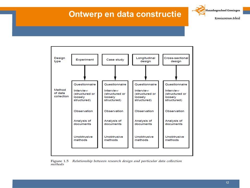 Ontwerp en data constructie 12