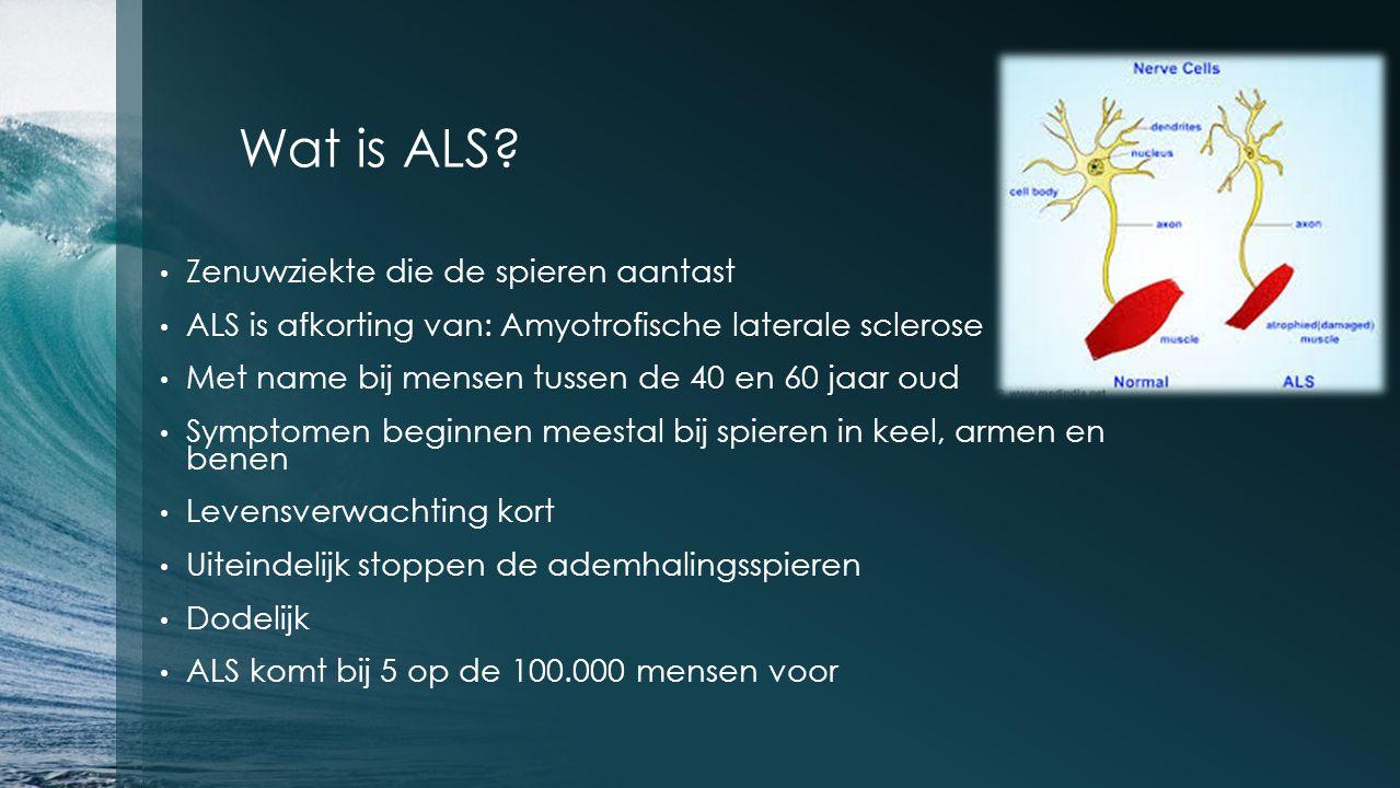 Wat is ALS.