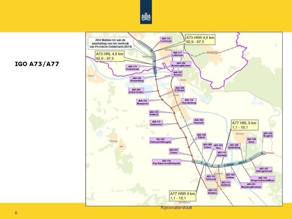 Rijkswaterstaat 6 IGO A73/A77