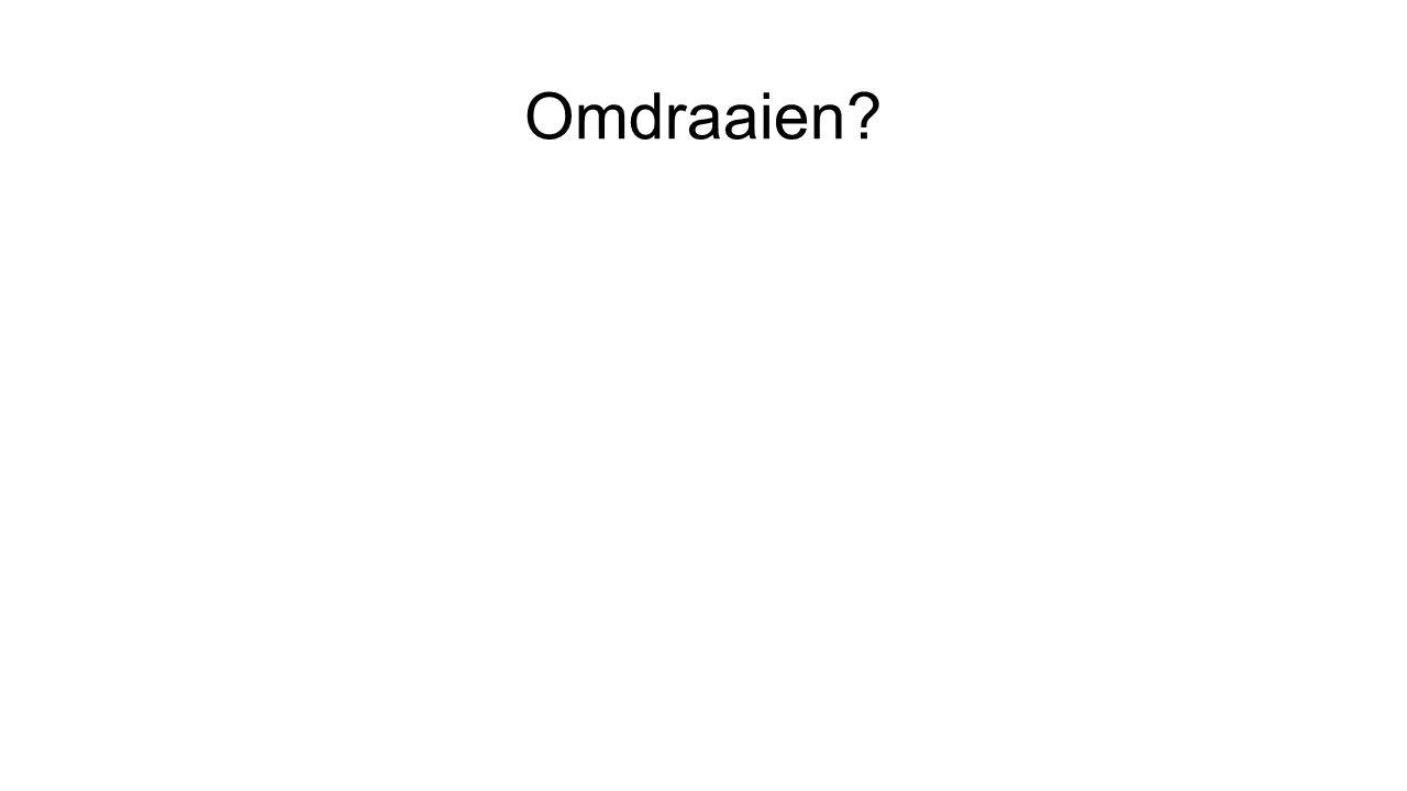 Omdraaien