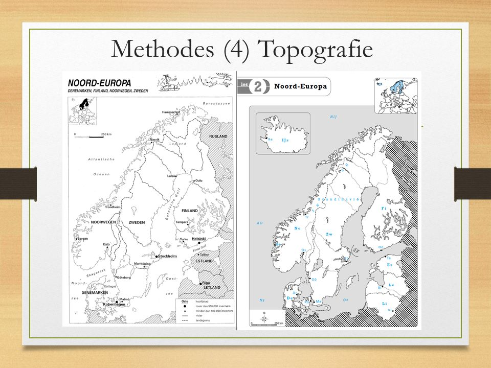 Methodes (5) Topografie (2)
