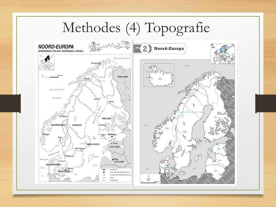 Methodes (4) Topografie