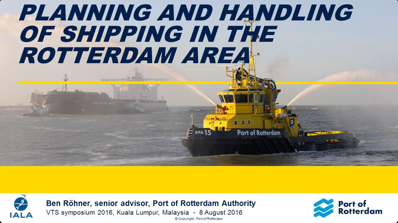© Copyright - Port of Rotterdam Tekst + afbeelding (S) Klik op het icoontje om een nieuwe afbeelding in te voegen.