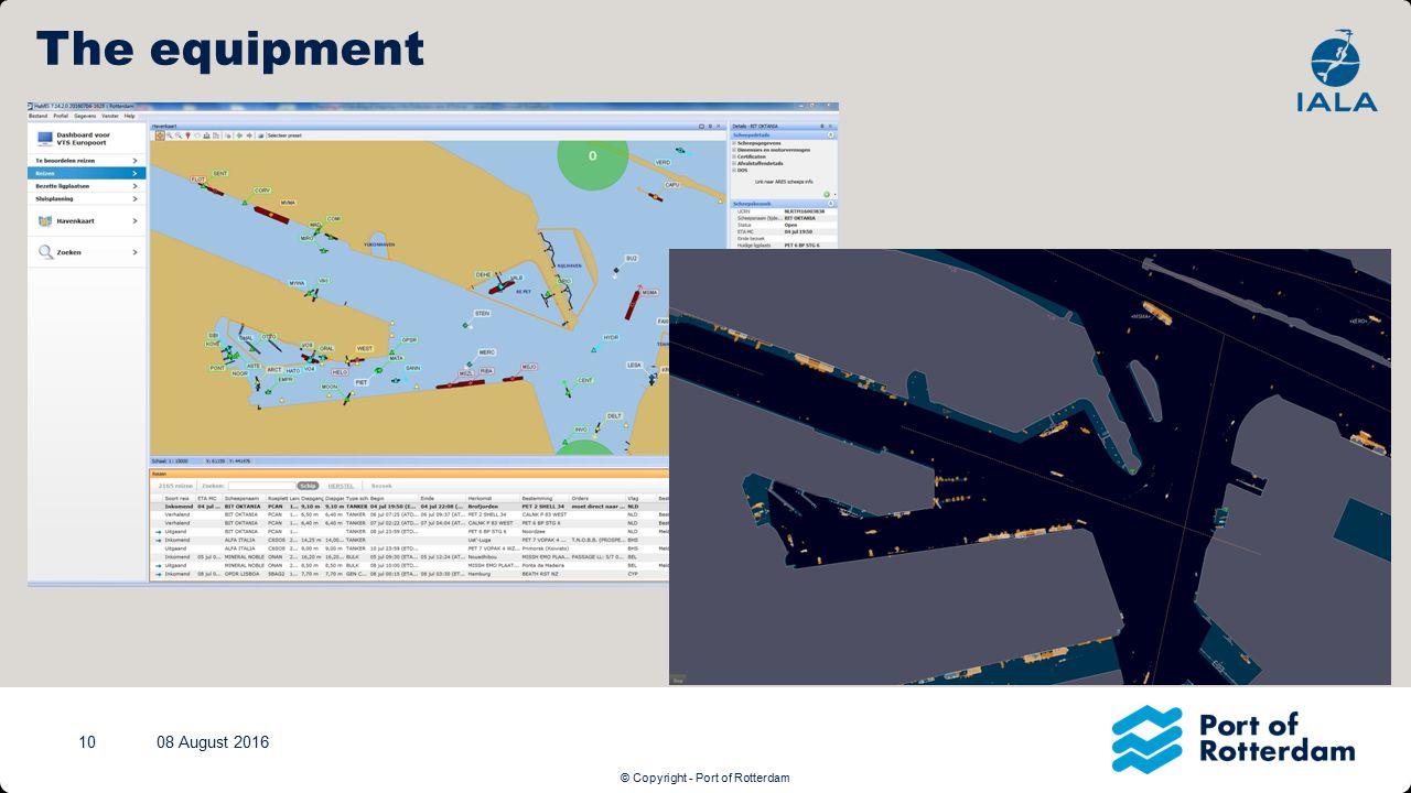 © Copyright - Port of Rotterdam Afbeelding (XXL) + Tekstkader (Linksonder) Klik op het icoontje om een nieuwe afbeelding in te voegen.