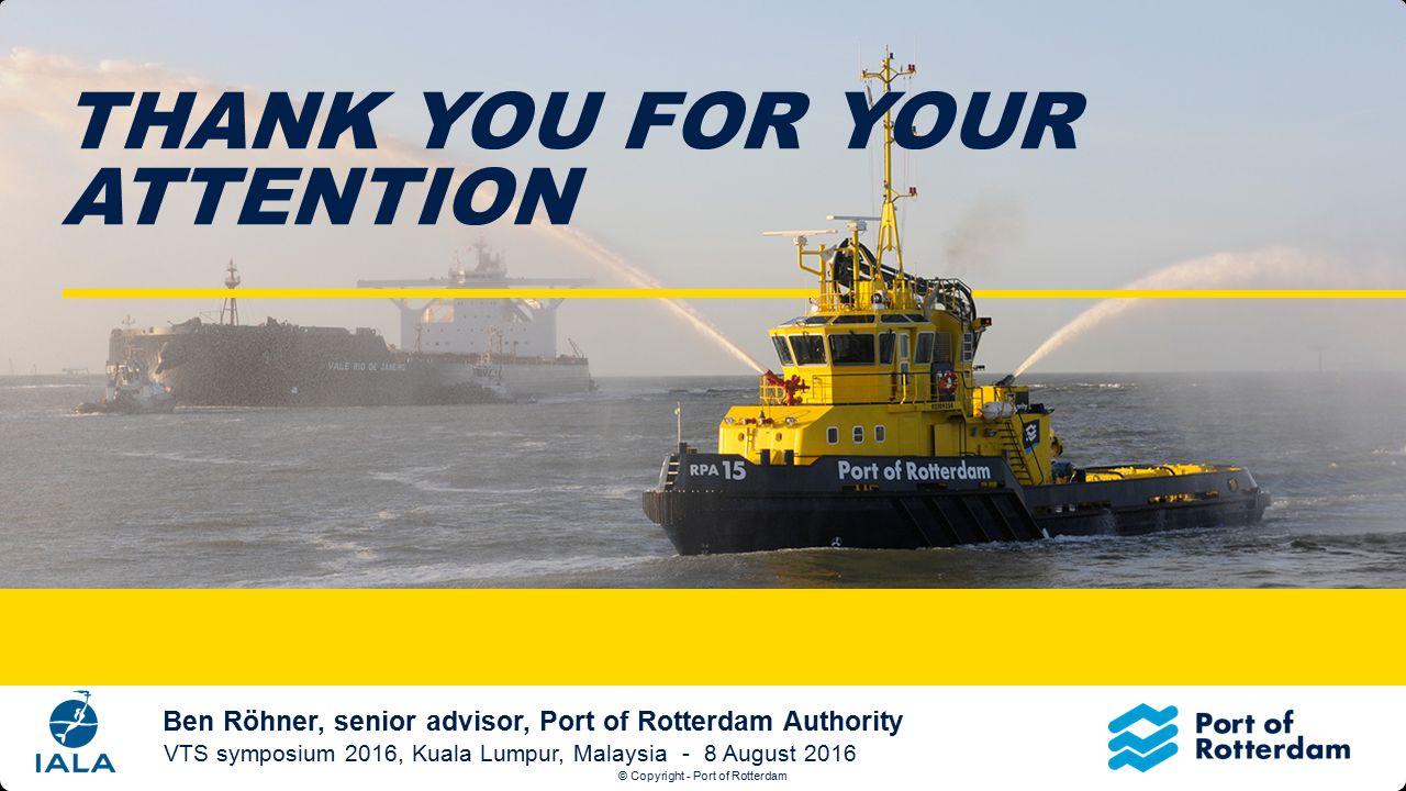 © Copyright - Port of Rotterdam Titeldia Klik op het icoontje om een nieuwe afbeelding in te voegen.