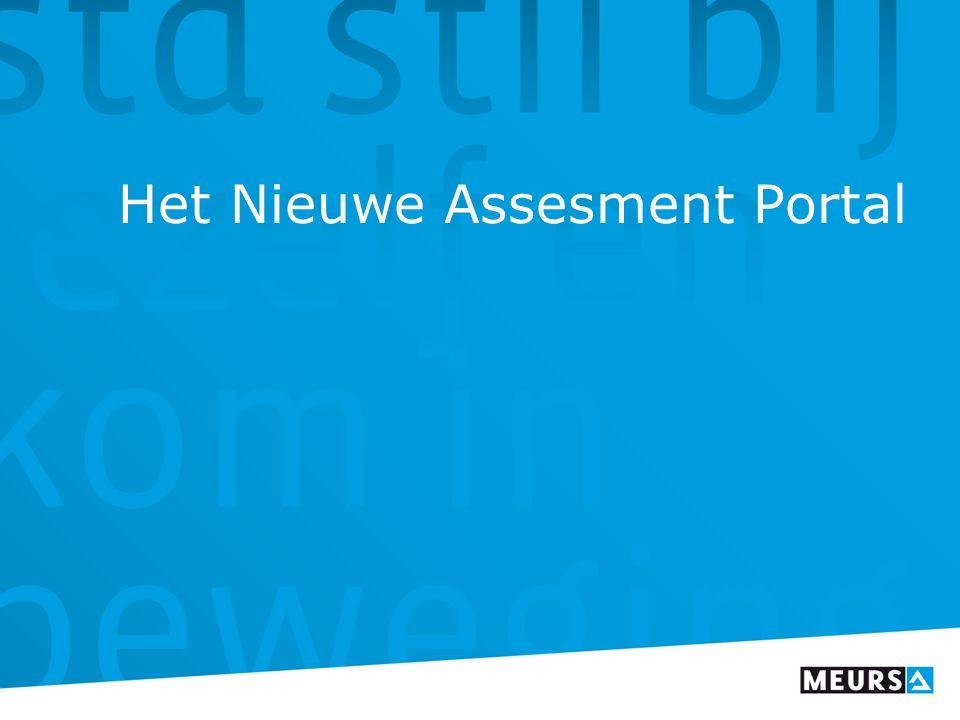 Het Nieuwe Assesment Portal