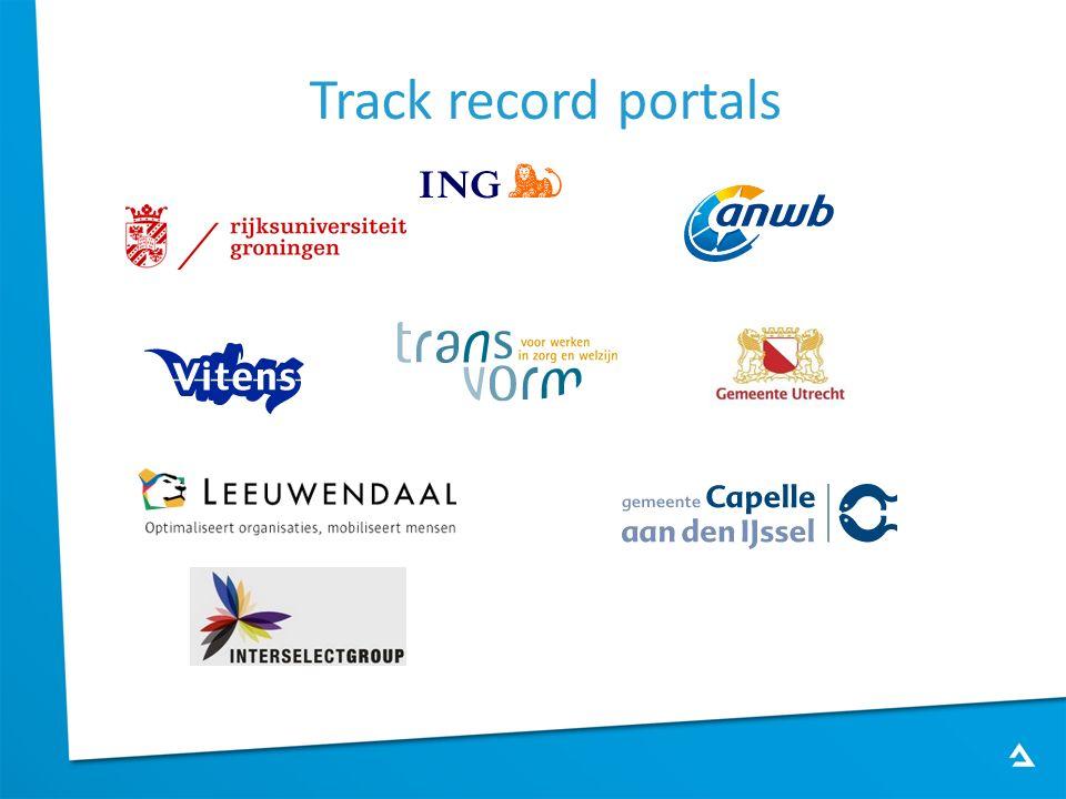 Track record portals