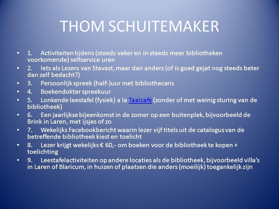 THOM SCHUITEMAKER 1.