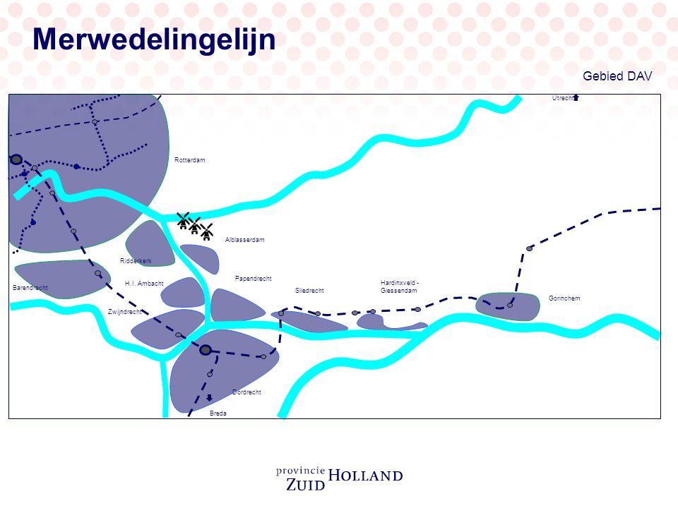 Gebied DAV Alblasserdam Gorinchem Hardinxveld - Giessendam Sliedrecht Papendrecht Ridderkerk Barendrecht Rotterdam H.I. Ambacht Zwijndrecht Dordrecht