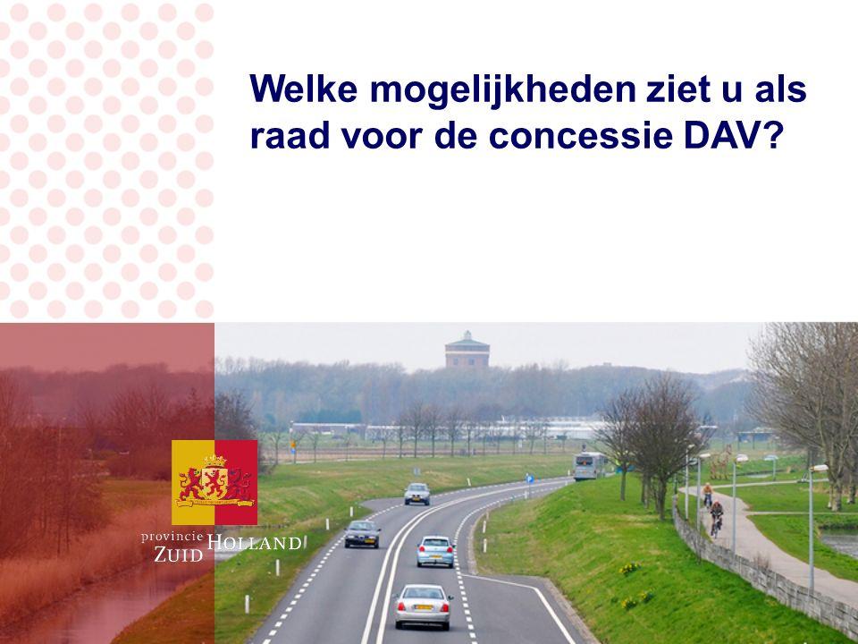 Welke mogelijkheden ziet u als raad voor de concessie DAV?