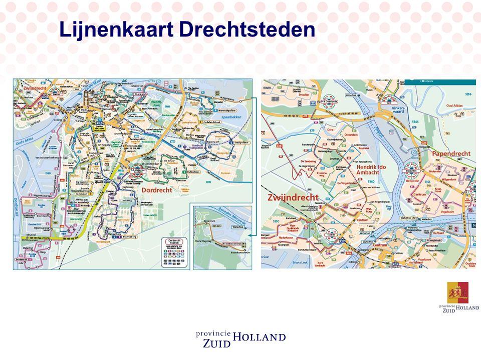 Lijnenkaart Drechtsteden