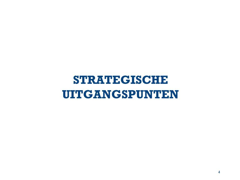 4 STRATEGISCHE UITGANGSPUNTEN