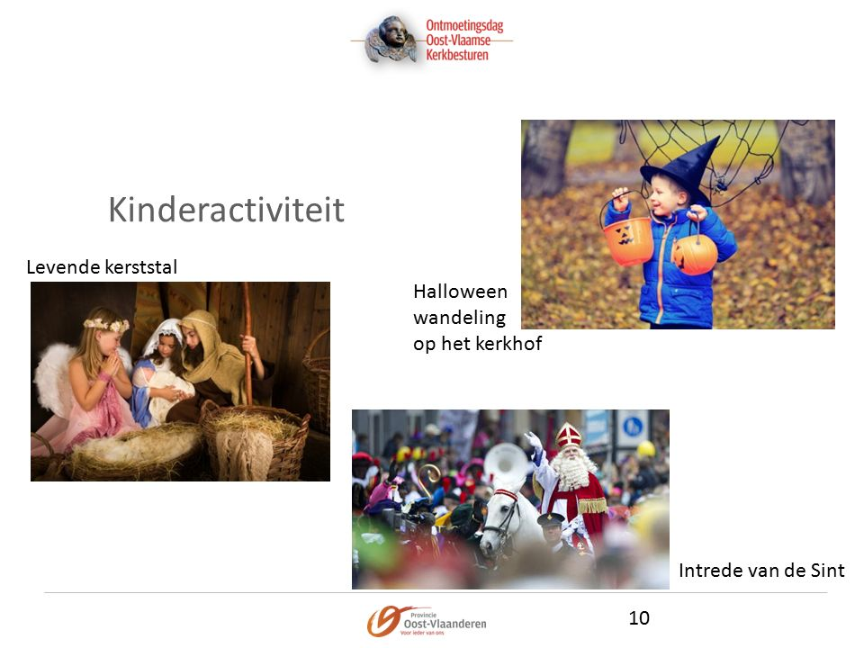 Kinderactiviteit 10 Halloween wandeling op het kerkhof Intrede van de Sint Levende kerststal