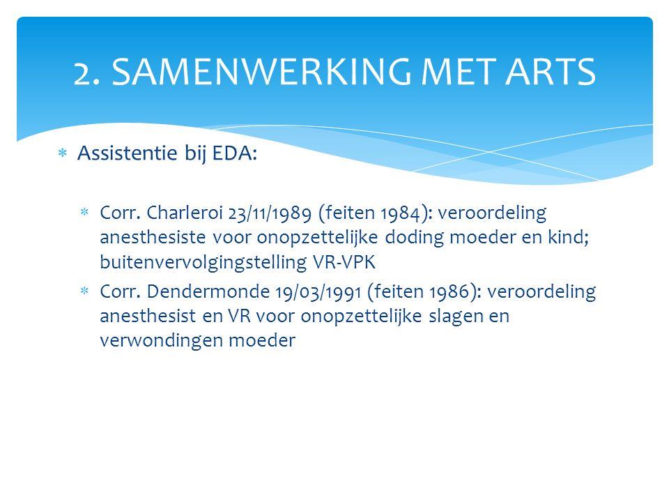  Assistentie bij EDA:  Corr.