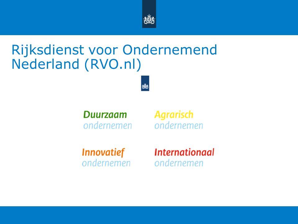 Rijksdienst voor Ondernemend Nederland (RVO.nl)