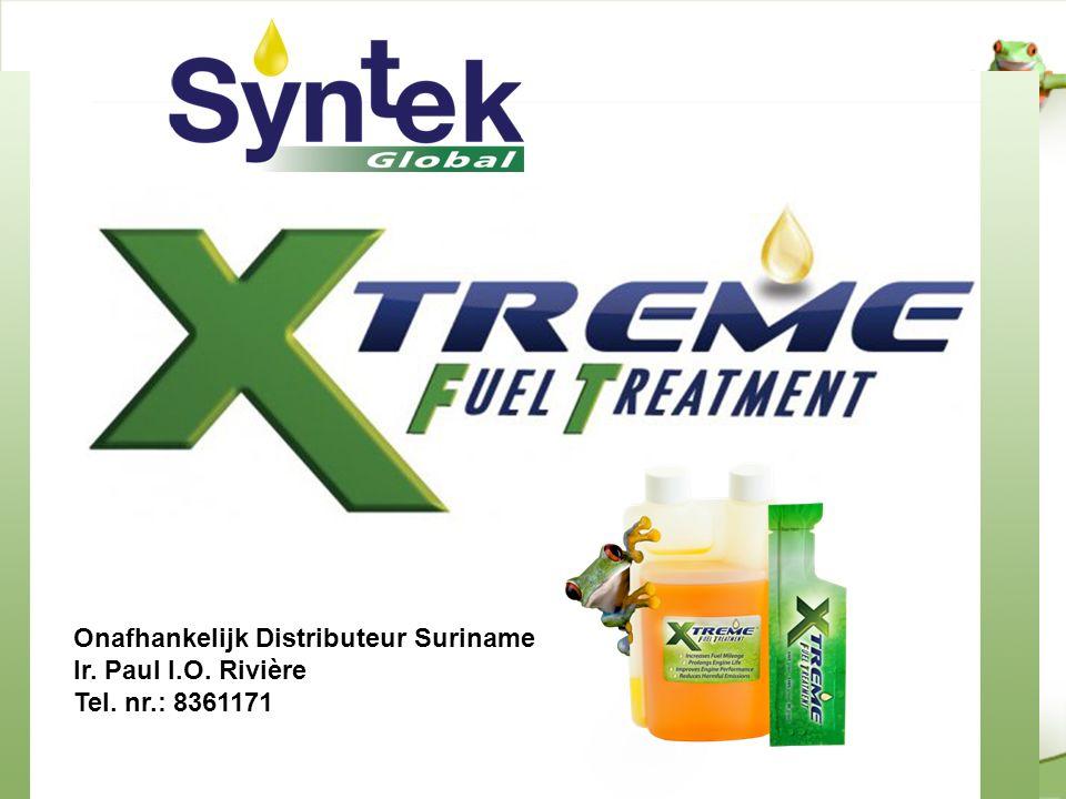 Onafhankelijk Distributeur Suriname Ir. Paul I.O. Rivière Tel. nr.: 8361171