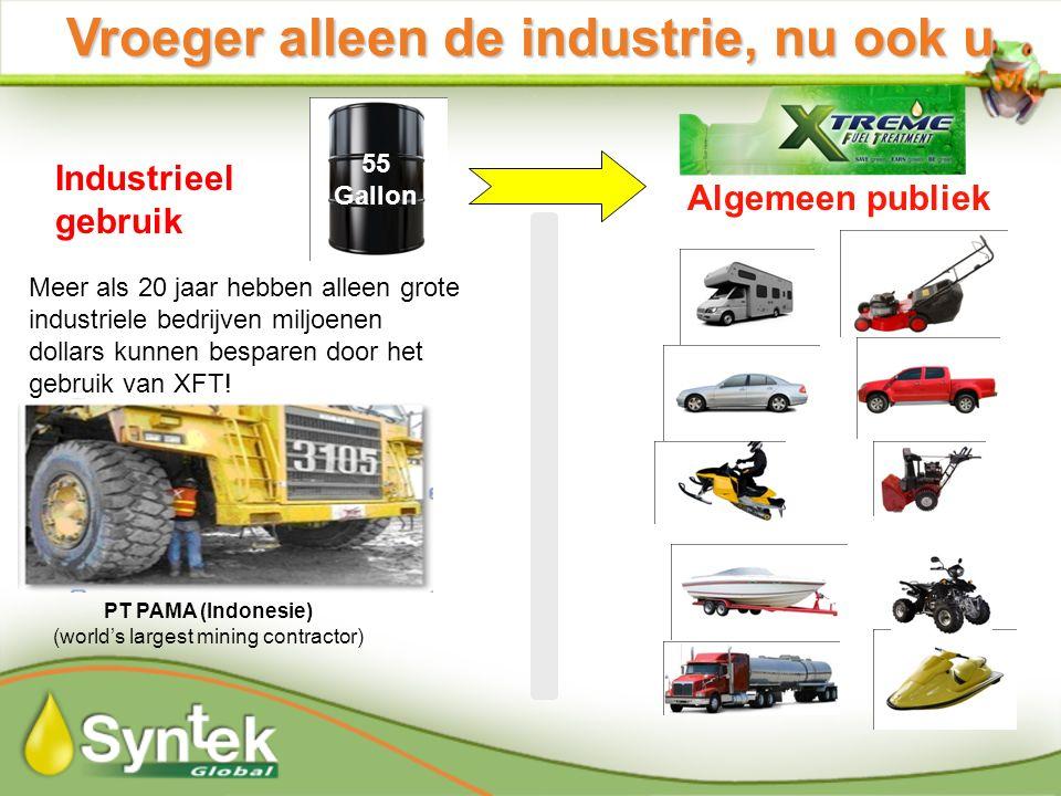 Vroeger alleen de industrie, nu ook u Industrieel gebruik Algemeen publiek Meer als 20 jaar hebben alleen grote industriele bedrijven miljoenen dollars kunnen besparen door het gebruik van XFT.
