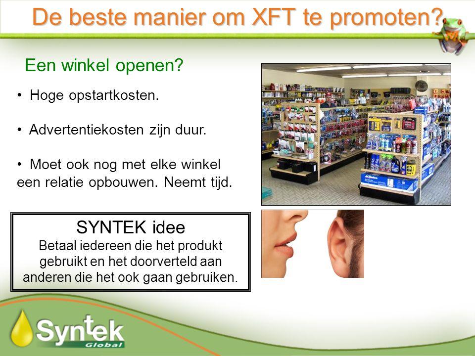 De beste manier om XFT te promoten. Een winkel openen.