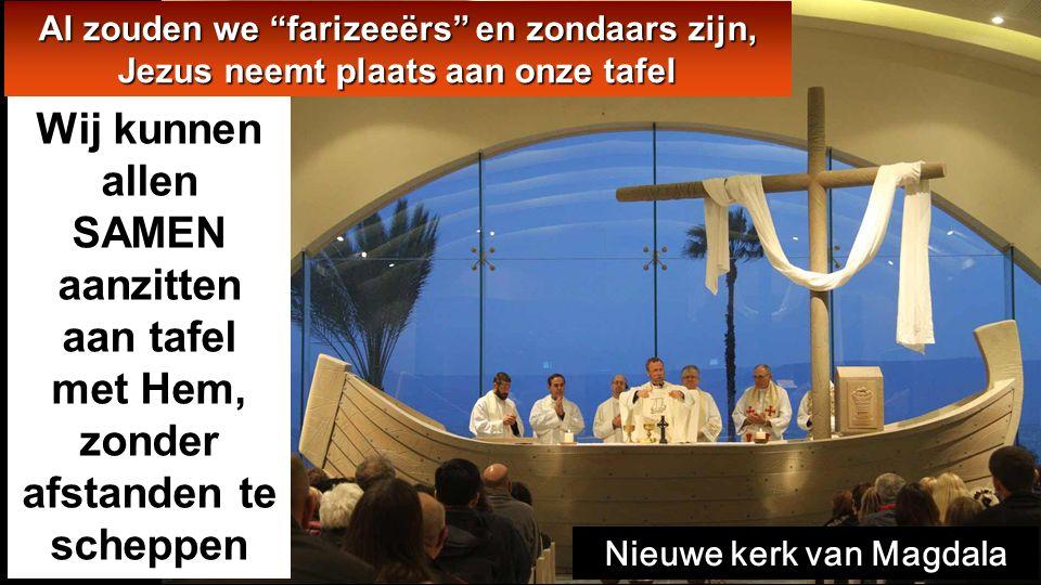 Lc 7,36-8,3 In die tijd vroeg een van de Farizeeën Jezus bij zich te eten. Jezus trad het huis van de Farizeeër binnen en ging aanliggen..